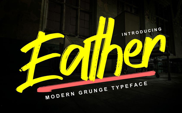 Eather Font Family Free Download