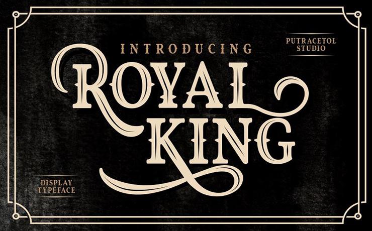 Royal King Font Family Free Download