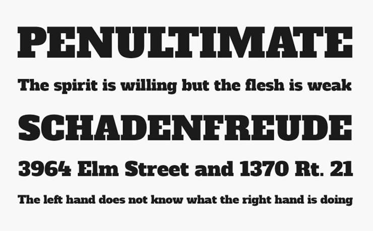 Alfa Slab One Font Family Download