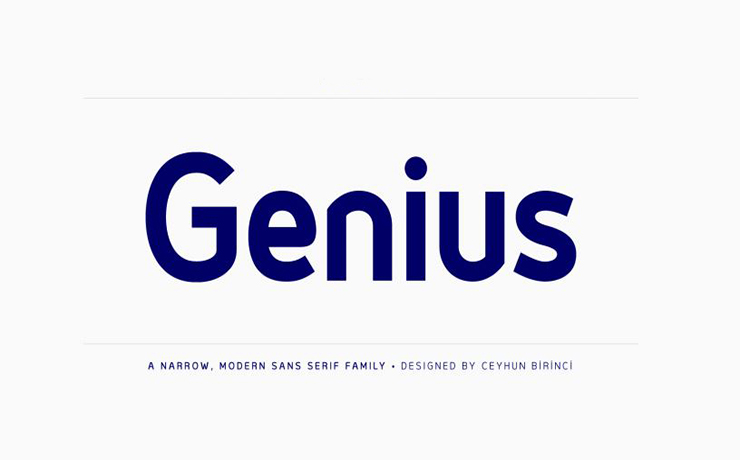 Genius Font Family Free Download