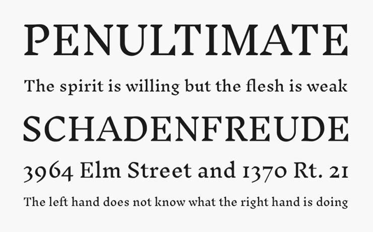 Inknut Antiqua Font Family Download
