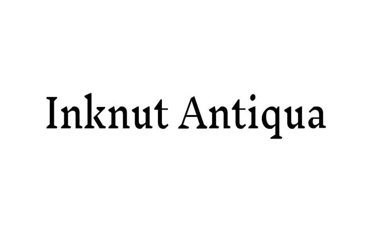 Inknut Antiqua Font Family Free Download