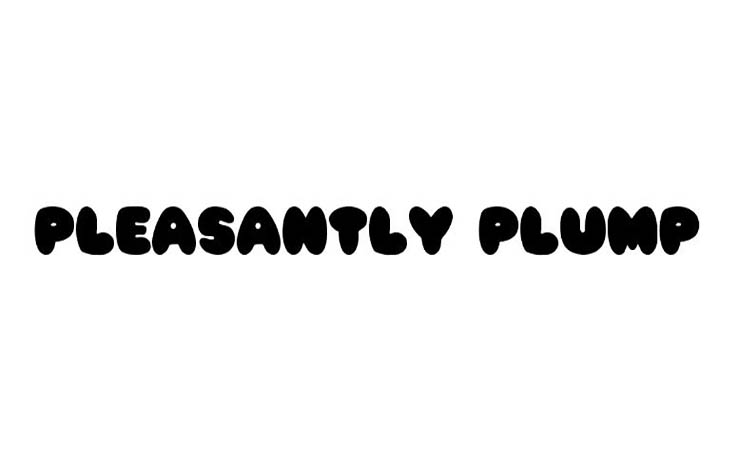 Pleasantly Plump Font Family Free Download
