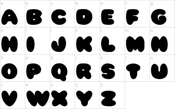 Pleasantly Plump Font Free Download
