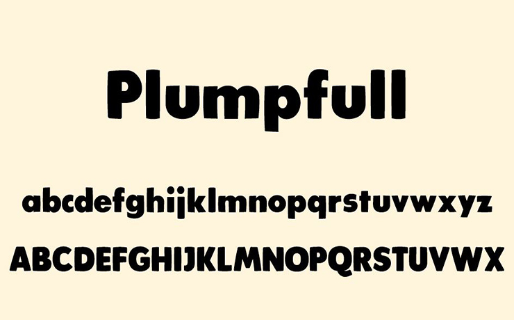 Plumpfull Font Free Download