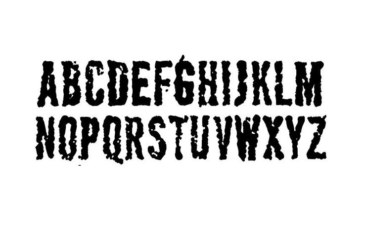 Apocalypse Font Free Download