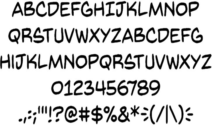 Back Issues Font Free Download