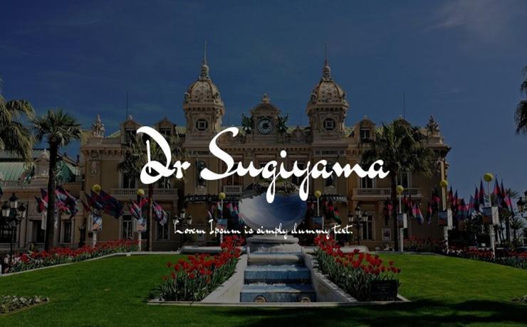 Dr Sugiyama Font Family Free Download