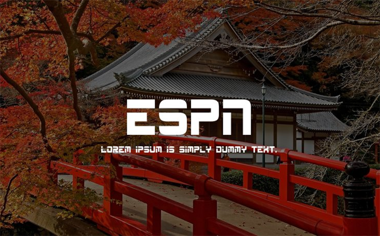 Espn Font Family Free Download