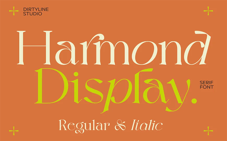 Harmond Font Family Free Download
