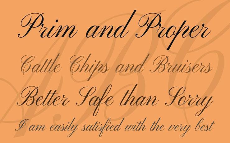 Pinyon Script Font Family Download