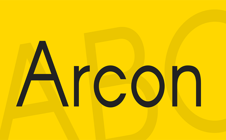 Arcon Font Family Free Download