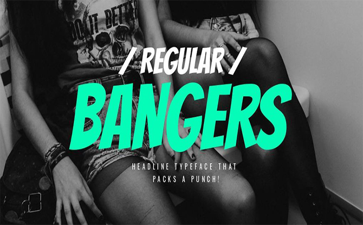 Bangers Font Free Download