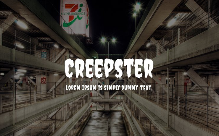 Creepster Font Family Free Download