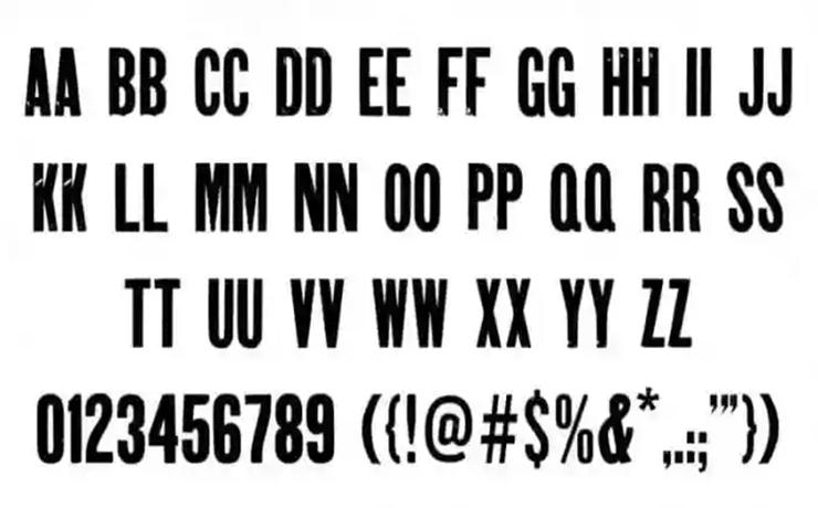 Gothic Joker Display Font Free Download