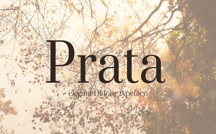 Prata Font Family Free Download
